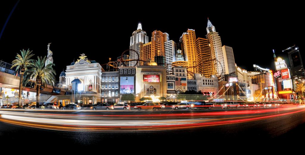High-rise buildings in Las Vegas